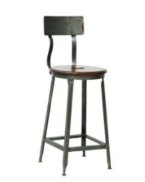Stunning Industrial Metal Bar Stool